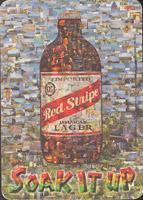 Pivní tácek red-stripe-8-zadek