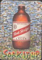Pivní tácek red-stripe-8