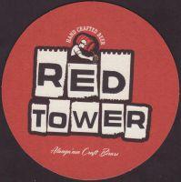 Beer coaster red-tower-2-zadek-small