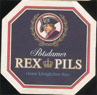 Beer coaster rex-pils-1