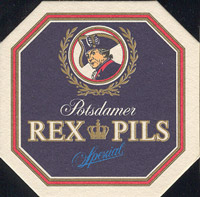 Beer coaster rex-pils-2