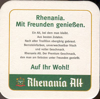 Beer coaster rhenania-1-zadek