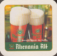 Beer coaster rhenania-1