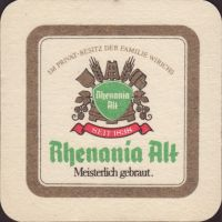 Beer coaster rhenania-9-small