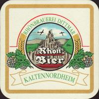Pivní tácek rhonbrauerei-dittmar-1-small