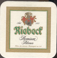 Beer coaster riebeck-1
