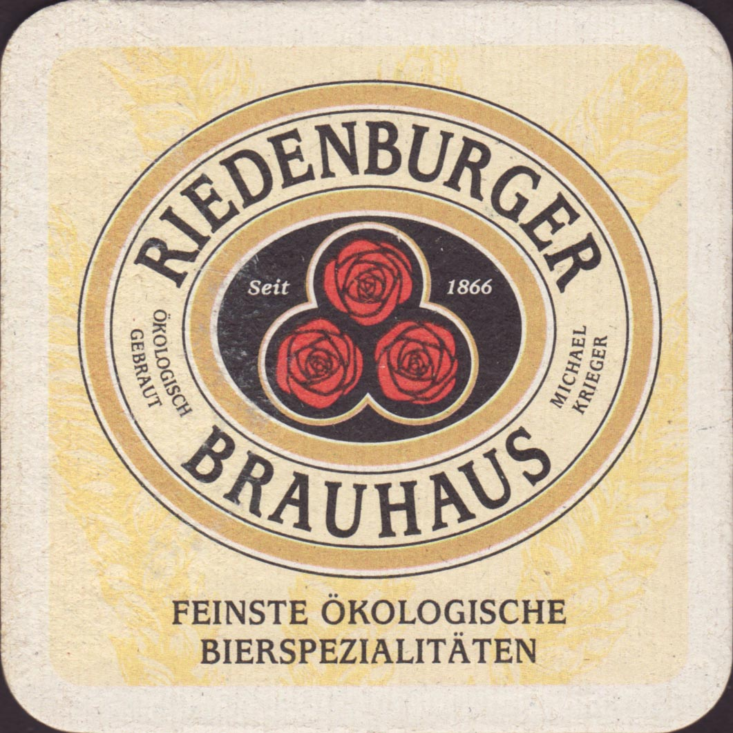 Beer coaster riedenburger-brauhaus-1