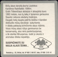 Pivní tácek rinkuskiai-3-zadek