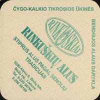 Pivní tácek rinkuskiai-4-zadek