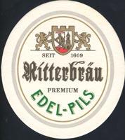 Beer coaster ritterbrau-1-zadek