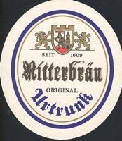 Beer coaster ritterbrau-1