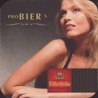 Beer coaster ritterbrau-7-zadek-small