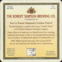 Beer coaster robert-simpson-4-zadek-small
