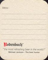 Beer coaster rodenbach-21-zadek