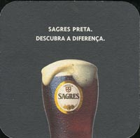 Pivní tácek sagres-2