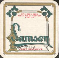 Pivní tácek samson-23
