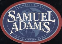 Beer coaster samuel-adams-1-oboje