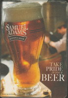 Beer coaster samuel-adams-12-small