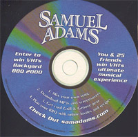 Beer coaster samuel-adams-2-zadek