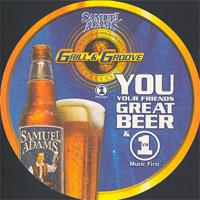 Beer coaster samuel-adams-2