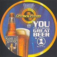 Beer coaster samuel-adams-2