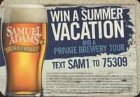 Beer coaster samuel-adams-25-zadek-small