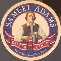Beer coaster samuel-adams-3