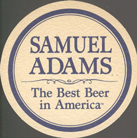 Beer coaster samuel-adams-4-zadek