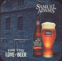 Beer coaster samuel-adams-40-small