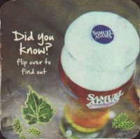 Beer coaster samuel-adams-50-small