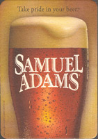 Beer coaster samuel-adams-7