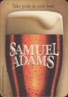 Beer coaster samuel-adams-71-small