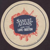 Beer coaster samuel-adams-74-small