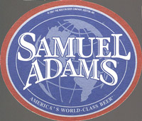 Beer coaster samuel-adams-8