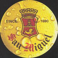 Beer coaster san-miguel-13-oboje