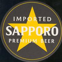 Pivní tácek sapporo-1