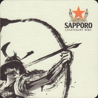 Pivní tácek sapporo-10-zadek