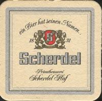 Pivní tácek scherdel-2