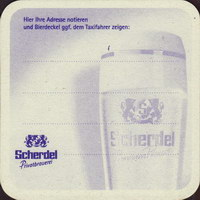 Pivní tácek scherdel-23-zadek-small