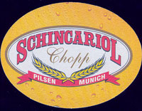 Beer coaster schincariol-2-oboje