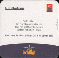 Beer coaster schlagl-1-zadek