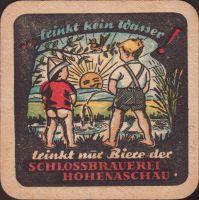 Beer coaster schlossbrauerei-hohenaschau-2-zadek-small
