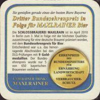 Pivní tácek schlossbrauerei-maxrain-11-zadek-small