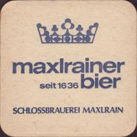 Pivní tácek schlossbrauerei-maxrain-12-zadek-small