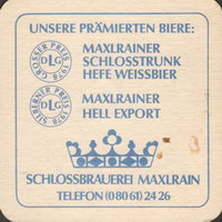 Pivní tácek schlossbrauerei-maxrain-2-zadek-small