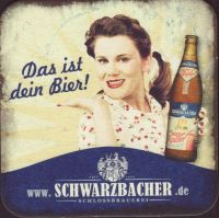 Pivní tácek schlossbrauerei-schwarzbach-2-small