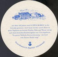 Beer coaster schwalm-brau-1-zadek