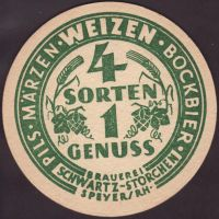 Beer coaster schwartz-storchen-2-zadek-small
