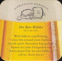 Pivní tácek schwechater-11-zadek