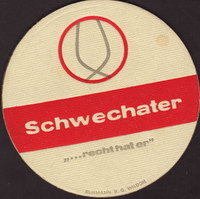 Pivní tácek schwechater-92